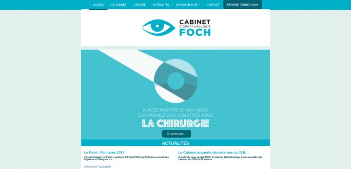 Ophtalmologie Foch Bordeaux